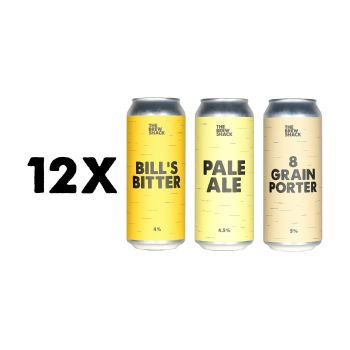 12x MIXED PACK 500ml